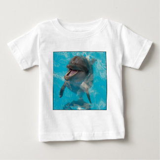 Smiling Dolphin Baby T-Shirt