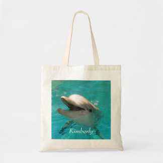 Smiling Dolphin Canvas Bags