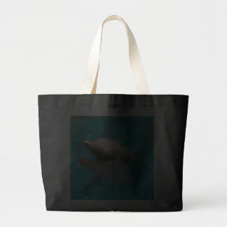 Smiling Dolphin Tote Bags