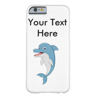 Smiling dolphin barely there iPhone 6 case