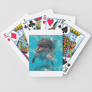 Smiling Dolphin Bicycle Card Deck