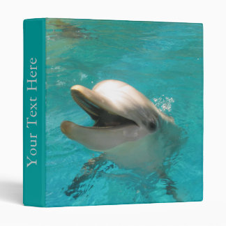 Smiling Dolphin Binder