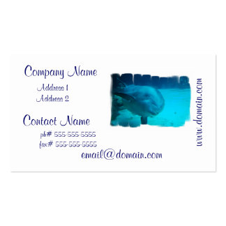 Smiling Dolphin Business Cards