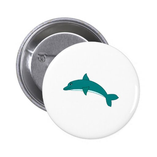 Smiling Dolphin Buttons