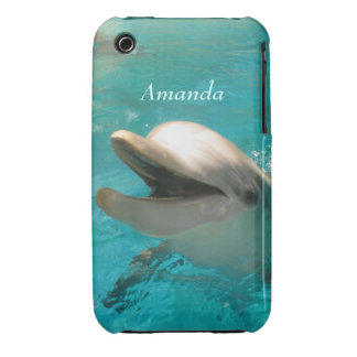 Smiling Dolphin Case-Mate iPhone 3 Case