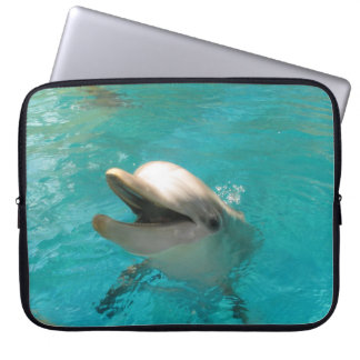Smiling Dolphin Computer Sleeve