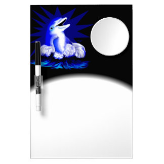Smiling Dolphin Dry-Erase Board