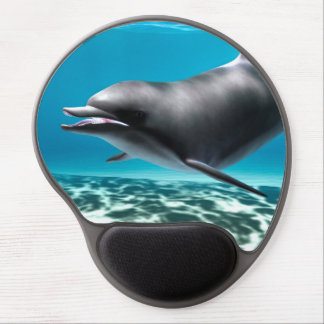 Smiling Dolphin Gel Mouse Pad