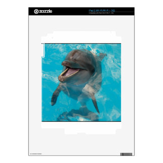 Smiling Dolphin iPad 2 Decals
