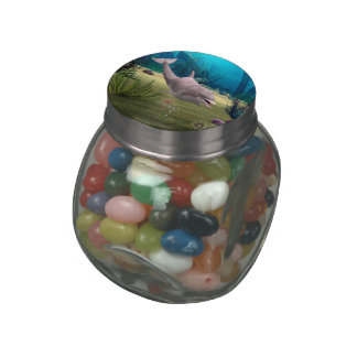 Smiling Dolphin Jelly Belly Candy Jar