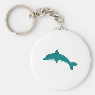 Smiling Dolphin Key Chain