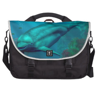 Smiling Dolphin Bag For Laptop