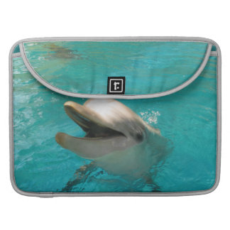 Smiling Dolphin Sleeves For MacBook Pro