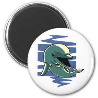 Smiling Dolphin Magnets