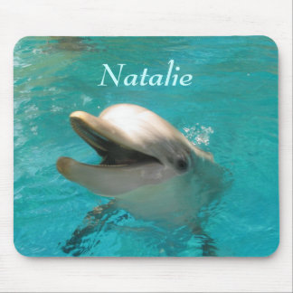 Smiling Dolphin Mouse Pad