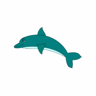 Smiling Dolphin Cut Out