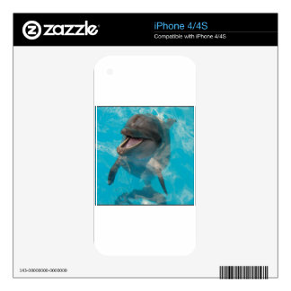 Smiling Dolphin Skin For The iPhone 4