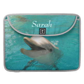 Smiling Dolphin Sleeve For MacBooks