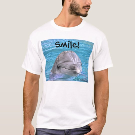 Smiling Dolphin - Smile! T-Shirt