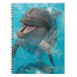 Smiling Dolphin Spiral Note Book