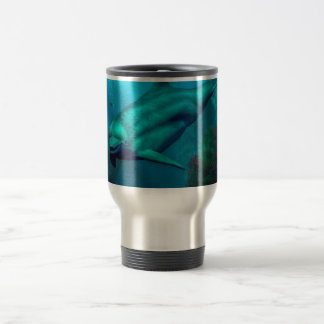 Smiling Dolphin Travel Mug