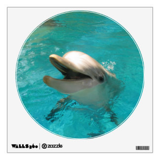 Smiling Dolphin Wall Decal