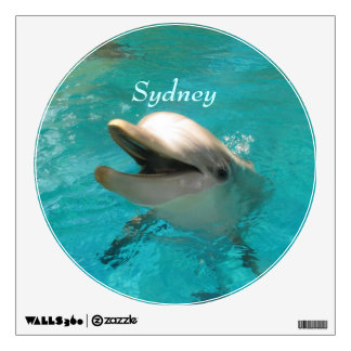 Smiling Dolphin Wall Sticker