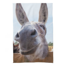 Smiling Donkey Kitchen Towel