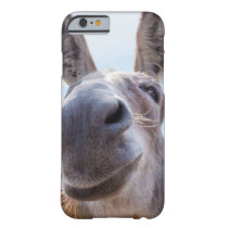 Smiling Donkey with a Silly Grin and Laughing Eyes Barely There iPhone 6 Case