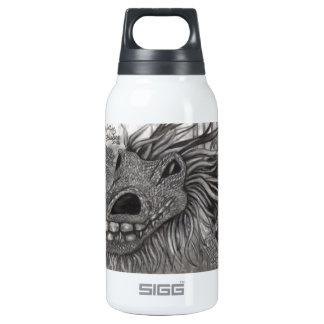 Smiling Dragon Thermos Water Bottle