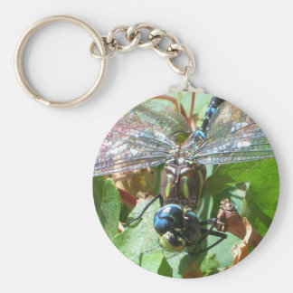 Smiling Dragonfly Keychain
