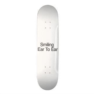 Smiling Ear To Ear Skate Board Decks