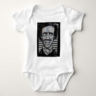 Smiling Edgar Allen Poe Baby Bodysuit