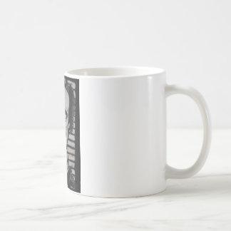 Smiling Edgar Allen Poe Coffee Mug