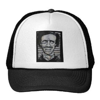 Smiling Edgar Allen Poe Mesh Hats