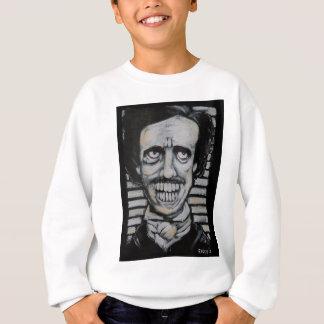 Smiling Edgar Allen Poe Sweatshirt