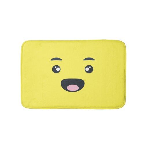 Smiling Emoji Bath Mats