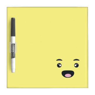 Smiling Emoji Dry-Erase Whiteboard