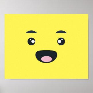 Smiling Emoji Poster