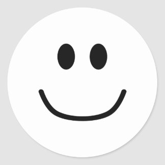 Smiling Expression Stickers 0002 (Custom Color)