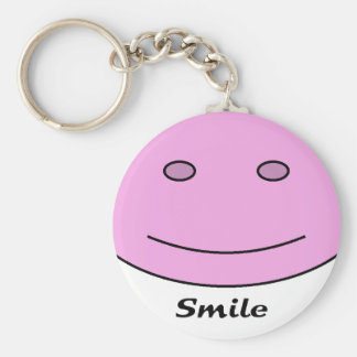 Smiling Face Key Chains