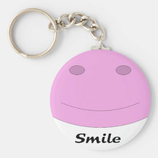 Smiling Face Key Chain
