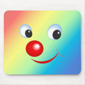 Smiling Face Mouse Pad