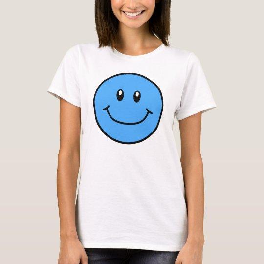 Smiling Face Shirt Blue 0001