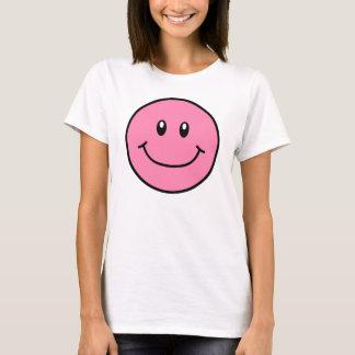 Smiling Face Shirt Pink 0001