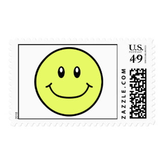 Smiling Face Stamps Yellow 0001
