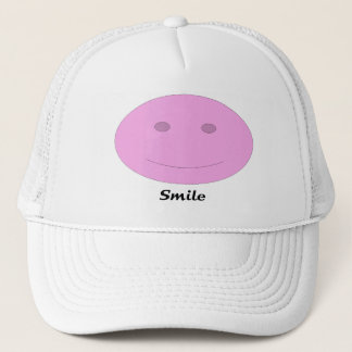 Smiling Face Trucker Hat