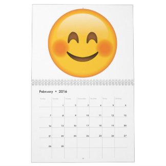 Smiling Face  with Blushed Cheeks - Emoji Calendar