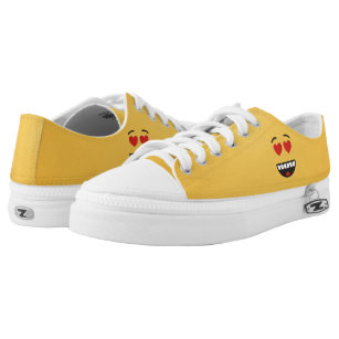 30cdffabe753 Smiling Face with Heart-Shaped Eyes Low-Top Sneakers