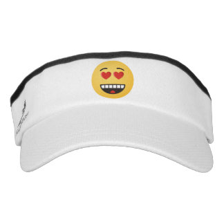 Smiling Face with Heart-Shaped Eyes Visor